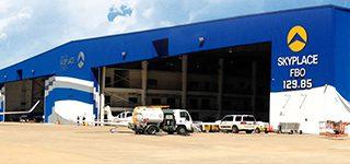 Skyplace FBO San Antonio TX Hangar