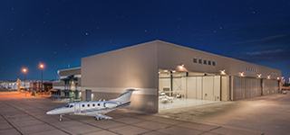 LuxAirJetCenters_KGYR_NewHangar