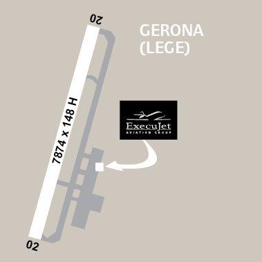 airport diagrams gerona paragon aviation group. Black Bedroom Furniture Sets. Home Design Ideas