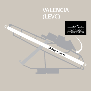 airport diagrams valencia paragon aviation group. Black Bedroom Furniture Sets. Home Design Ideas