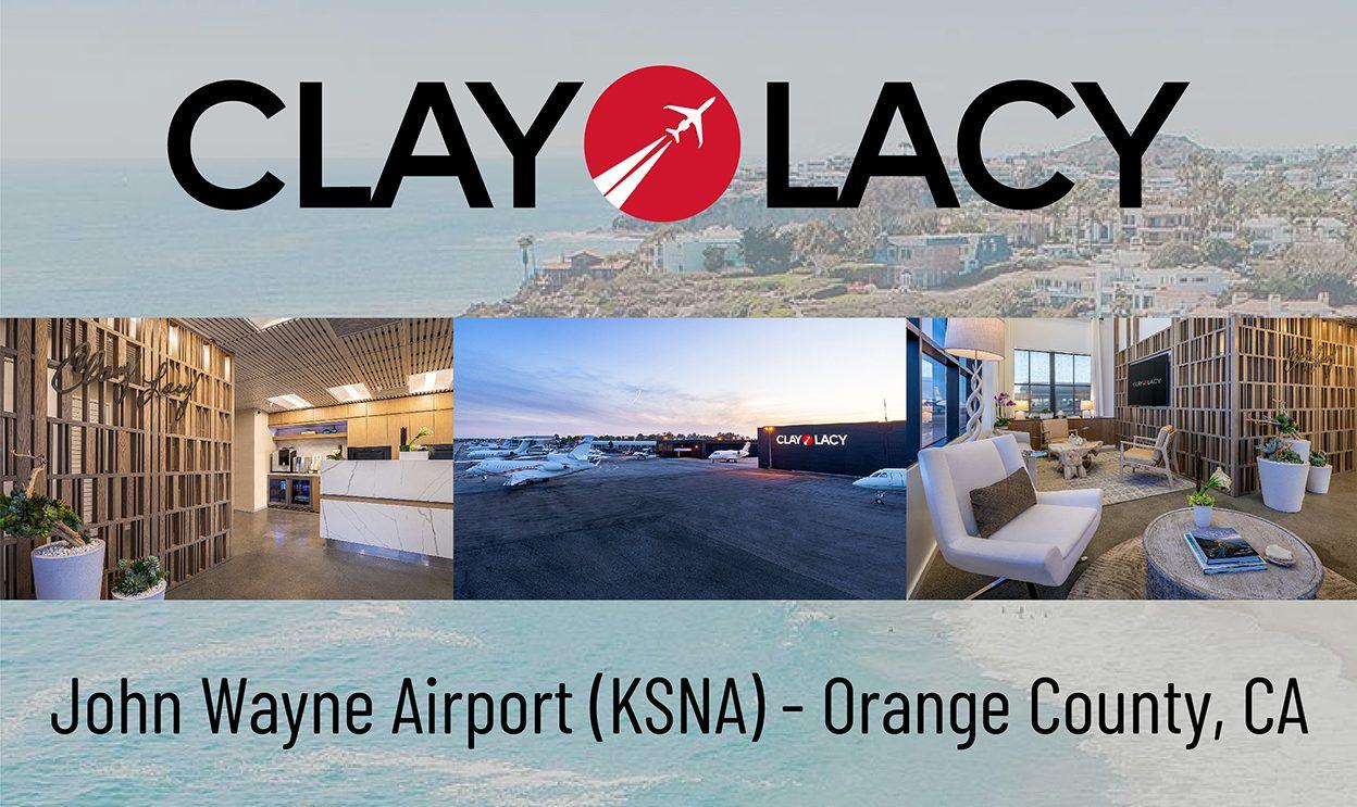 Clay Lacy Aviation Orange County FBO