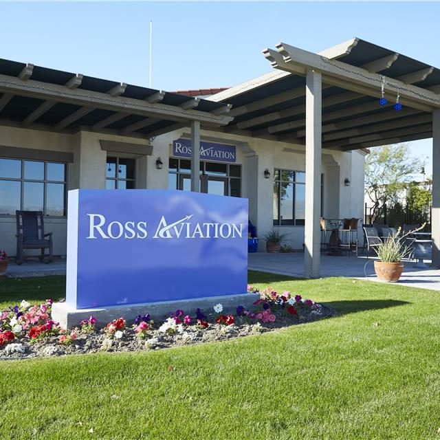 Ross Aviation (KTRM) Thermal Palm Springs FBO Outside